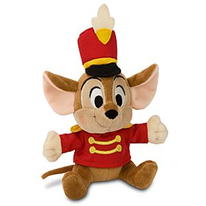 Timothy Q. Mouse Mini Bean Bag Plush Toy