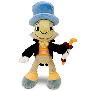 Mini Bean Bag Jiminy Cricket Plush Toy -- 9 H
