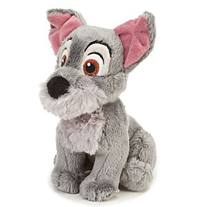 Lady and the Tramp Scamp Mini Bean Bag Plush -- 7 H