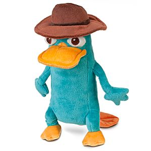 Agent P Plush - Phineas and Ferb - Mini Bean Bag - 10