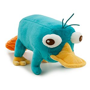 Perry Plush - Phineas and Ferb - Mini Bean Bag - 10