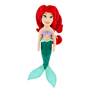 Ariel Plush Doll - Mini Bean Bag - 12""