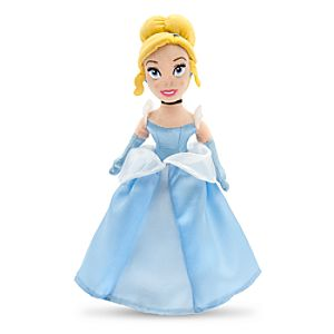 Cinderella Plush Doll - Mini Bean Bag - 12