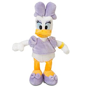 Daisy Duck Mini Bean Bag Plush Toy -- 9 H