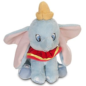 Mini Bean Bag Dumbo Plush Toy -- 7 1/2 H
