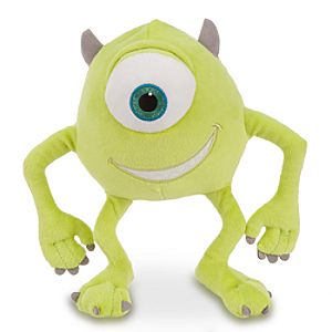 Mike Wazowski Plush - Monsters, Inc. - 8