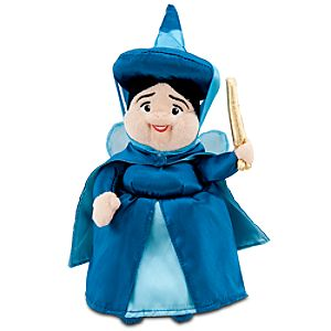 Sleeping Beauty: Merryweather Mini Bean Bag Plush -- 10