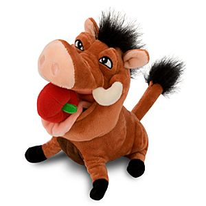 Mini Bean Bag The Lion King Hula Pumbaa Plush Toy -- 8 1/2 H