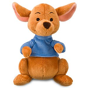 Mini Bean Bag Winnie the Pooh Roo Plush Toy -- 7 H