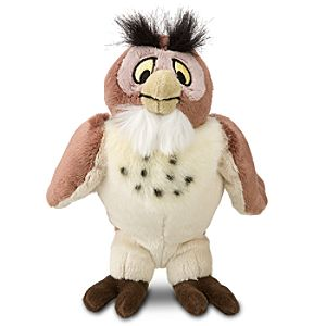 Mini Bean Bag Winnie the Pooh Owl Plush Toy -- 8 1/2 H