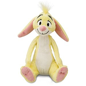 Mini Bean Bag Winnie the Pooh Rabbit Plush Toy -- 8 1/2 H