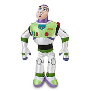Mini Bean Bag Buzz Lightyear Plush Toy -- 10 H