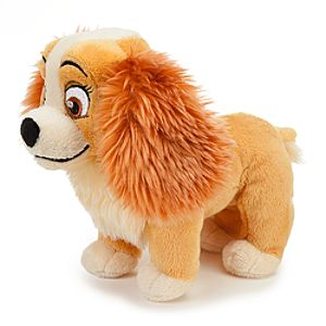 Lady and the Tramp Colette Mini Bean Bag Plush -- 7 L