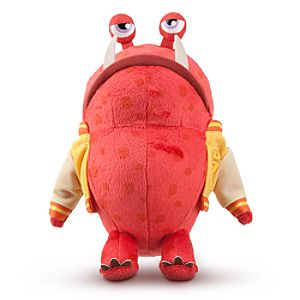 Big Red Mini Bean Bag Plush - Monsters University - 8''