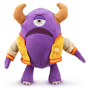 Percy Mini Bean Bag Plush - Monsters University - 7 1/2