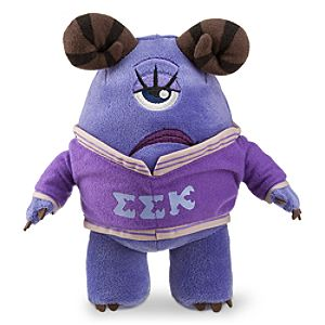 Violet Mini Bean Bag Plush - Monsters University - 8