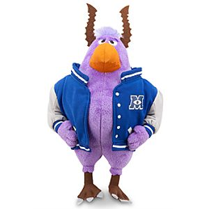 Brock Mini Bean Bag Plush - Monsters University - 10