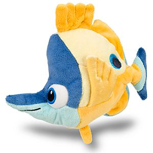 Finding Nemo Tad Mini Bean Bag Plush -- 7 H