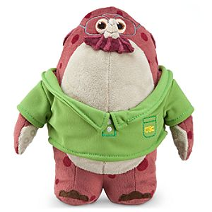 Don Carlton Mini Bean Bag Plush - Monsters University - 7 1/2