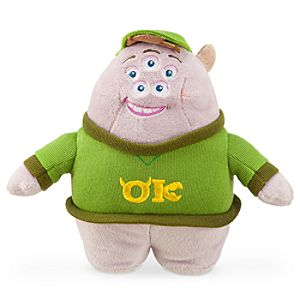 Squishy Mini Bean Bag Plush - Monsters University - 7 1/2''