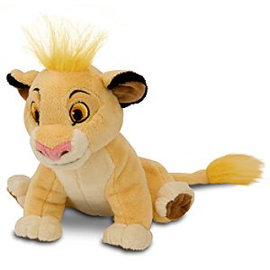 Mini Bean Bag The Lion King Simba Plush Toy -- 6 1/2 H