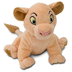 Mini Bean Bag The Lion King Nala Plush Toy -- 6 1/2 H