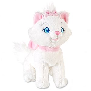 The Aristocats: Marie Mini Bean Bag Plush -- 7 H