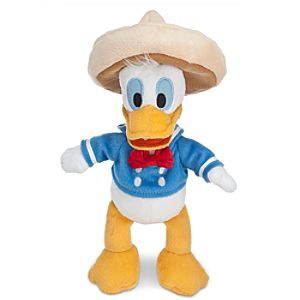 Donald Duck Plush - The Three Caballeros - 10""