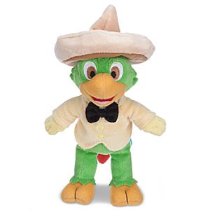 The Three Caballeros José Carioca Plush Toy -- 10 H