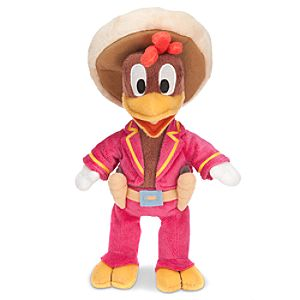 The Three Caballeros Panchito Plush Toy -- 10 H