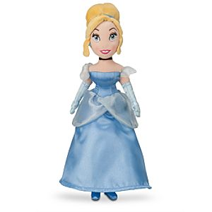 Cinderella Mini Bean Bag Plush Doll - 12