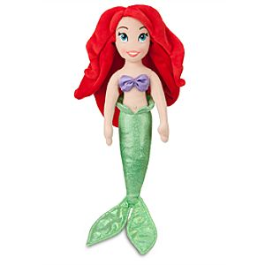 Ariel Mini Bean Bag Plush Doll - 12