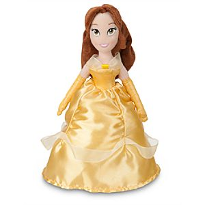 Belle Mini Bean Bag Plush Doll - 12