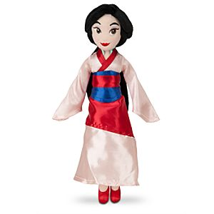 Mulan Mini Bean Bag Plush Doll - 12