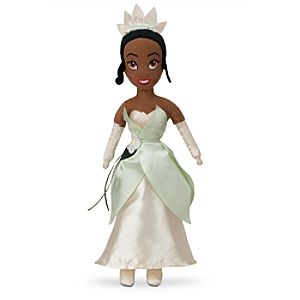 Tiana Plush Doll - The Princess and the Frog - Mini Bean Bag - 12