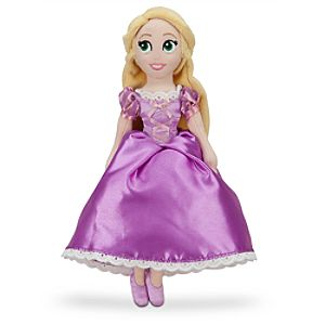 Rapunzel Mini Bean Bag Plush Doll - 12