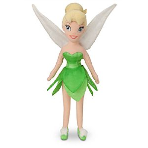Tinker Bell Mini Bean Bag Plush Doll - 12