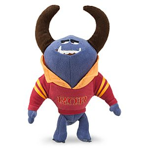 Johnny Mini Bean Bag Plush - Monsters University - 10