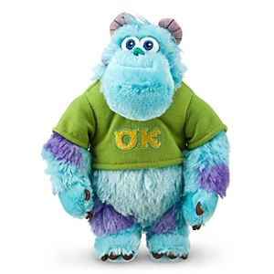 Sulley Plush - Monsters University - Mini Bean Bag - 8 1/2