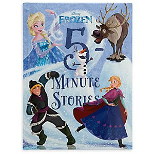 Frozen 5 Minute Stories Book