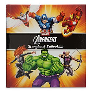 Marvels The Avengers Storybook Collection Book