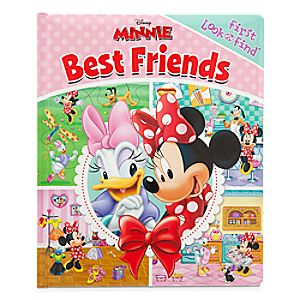 Minnie Mouse Best Friends First Look and Find Book