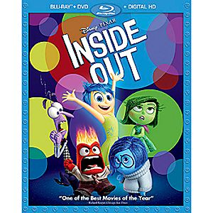 Inside Out Blu-ray Combo Pack with FREE Lithograph Set Offer - Pre-Order