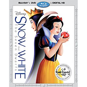 Snow White and the Seven Dwarfs Blu-ray Combo Pack with FREE Lithograph Set Offer - Pre-Order