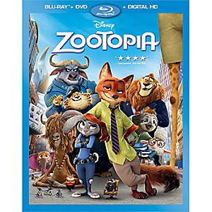 Zootopia Blu-ray Combo Pack with FREE Lithograph Set Offer - Pre-Order