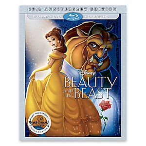 Beauty and the Beast 25th Anniversary Edition Blu-ray Combo Pack with FREE Lithograph Set Offer - Pre-Order