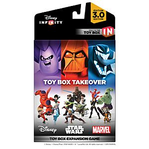 Disney Infinity: Toy Box Takeover (A Toy Box Expansion Game) - (3.0 Edition)