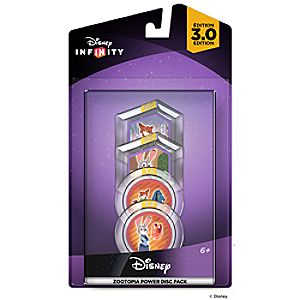 Disney Infinity: Disney Zootopia Power Disc Pack (3.0 Edition)