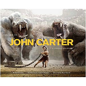 The Art of John Carter: A Visual Journey Book