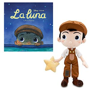 La Luna Book and Plush Set -- 2-Pc.